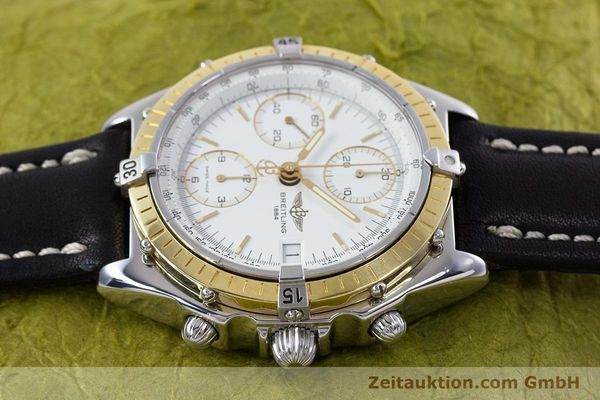 Used luxury watch Breitling Chronomat chronograph steel / gold automatic Kal. B13 ETA 7750 Ref. D13047  | 153075 05