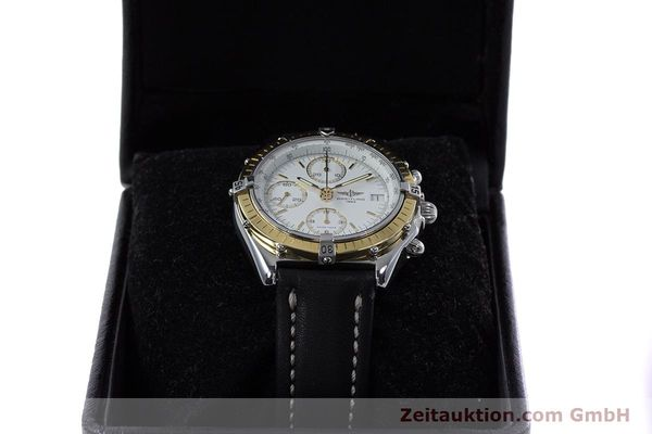 Used luxury watch Breitling Chronomat chronograph steel / gold automatic Kal. B13 ETA 7750 Ref. D13047  | 153075 07