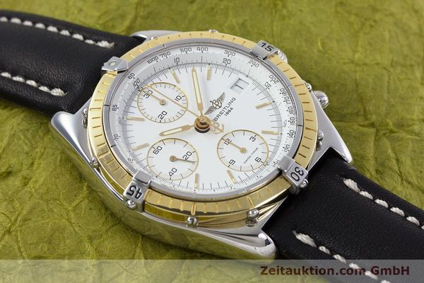 Used luxury watch Breitling Chronomat chronograph steel / gold automatic Kal. B13 ETA 7750 Ref. D13047  | 153075 14