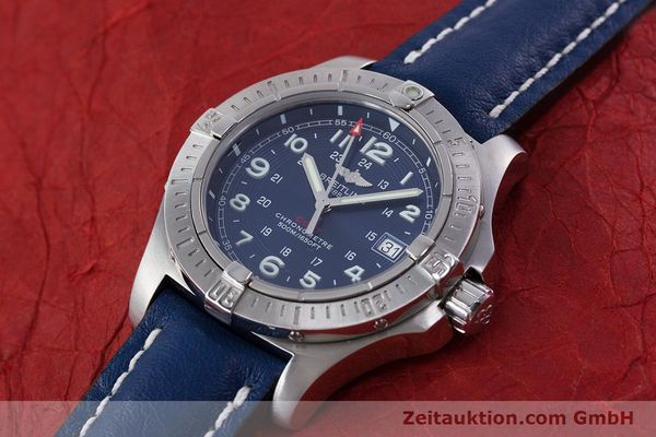 Used luxury watch Breitling Colt steel quartz Kal. B74 ETA 955652 Ref. A74380  | 153077 01
