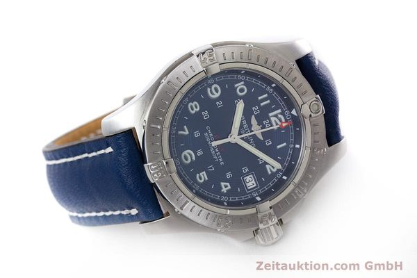 Used luxury watch Breitling Colt steel quartz Kal. B74 ETA 955652 Ref. A74380  | 153077 03