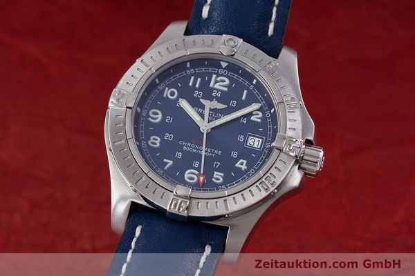 Used luxury watch Breitling Colt steel quartz Kal. B74 ETA 955652 Ref. A74380  | 153077 04