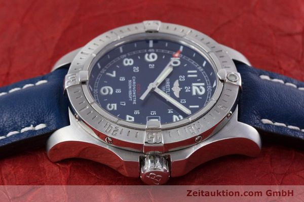 Used luxury watch Breitling Colt steel quartz Kal. B74 ETA 955652 Ref. A74380  | 153077 05