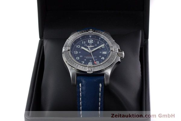 Used luxury watch Breitling Colt steel quartz Kal. B74 ETA 955652 Ref. A74380  | 153077 07