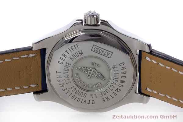 Used luxury watch Breitling Colt steel quartz Kal. B74 ETA 955652 Ref. A74380  | 153077 09