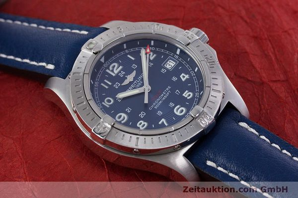 Used luxury watch Breitling Colt steel quartz Kal. B74 ETA 955652 Ref. A74380  | 153077 12