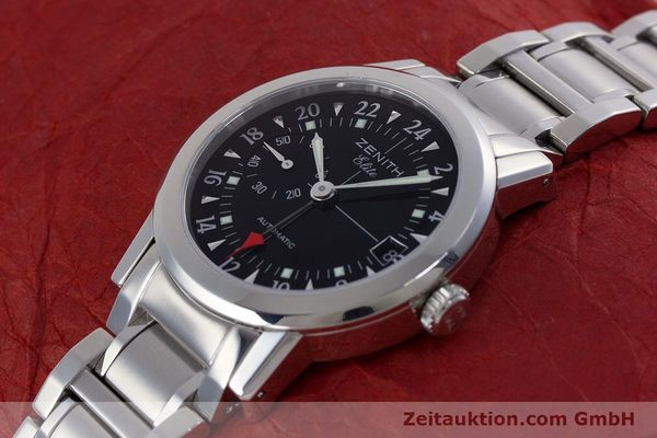 Used luxury watch Zenith Elite steel automatic Kal. 682 Ref. 01/02.0451.682  | 153078 01