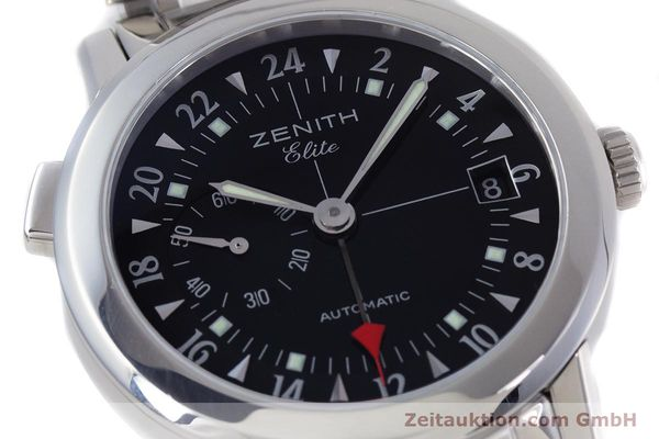 Used luxury watch Zenith Elite steel automatic Kal. 682 Ref. 01/02.0451.682  | 153078 02