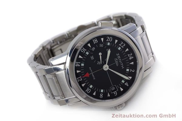 Used luxury watch Zenith Elite steel automatic Kal. 682 Ref. 01/02.0451.682  | 153078 03