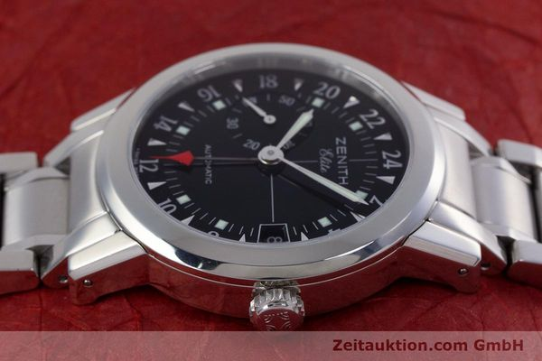 Used luxury watch Zenith Elite steel automatic Kal. 682 Ref. 01/02.0451.682  | 153078 05