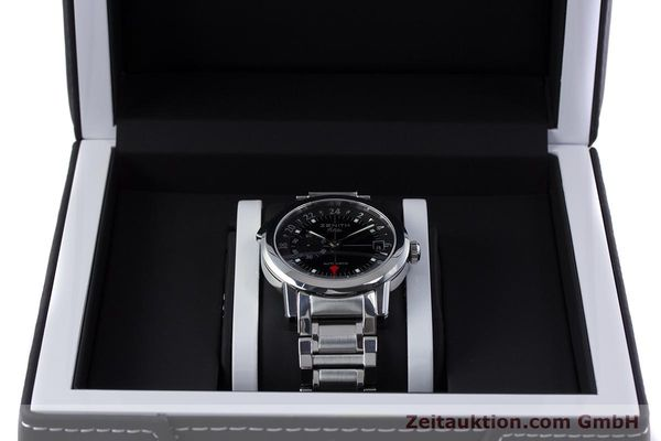 Used luxury watch Zenith Elite steel automatic Kal. 682 Ref. 01/02.0451.682  | 153078 07