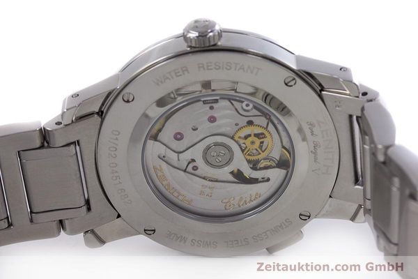 Used luxury watch Zenith Elite steel automatic Kal. 682 Ref. 01/02.0451.682  | 153078 09