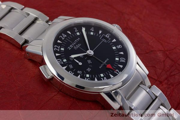 Used luxury watch Zenith Elite steel automatic Kal. 682 Ref. 01/02.0451.682  | 153078 15