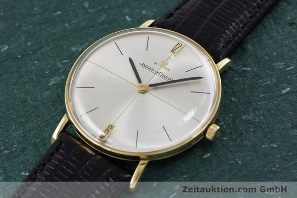 Used luxury watch Jaeger Le Coultre * 18 ct gold manual winding Kal. 818/C Ref. 1947  | 153084 01