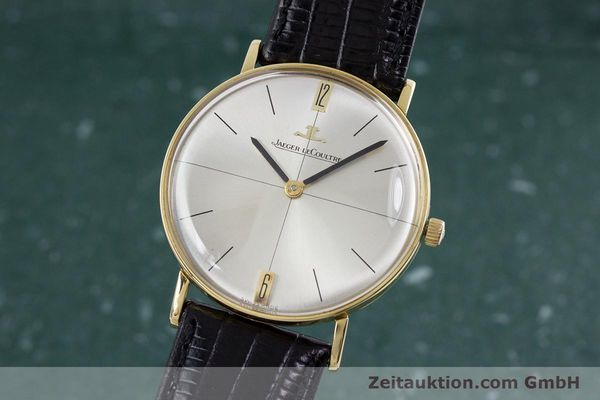 Used luxury watch Jaeger Le Coultre * 18 ct gold manual winding Kal. 818/C Ref. 1947  | 153084 04