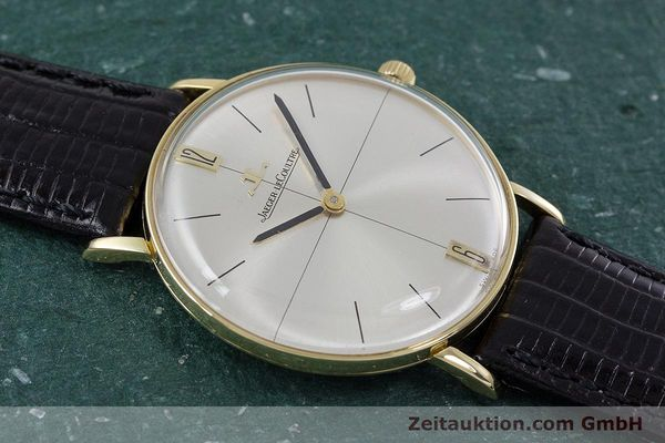 Used luxury watch Jaeger Le Coultre * 18 ct gold manual winding Kal. 818/C Ref. 1947  | 153084 13