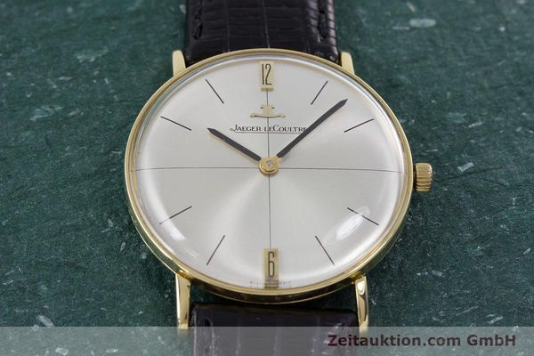 Used luxury watch Jaeger Le Coultre * 18 ct gold manual winding Kal. 818/C Ref. 1947  | 153084 14