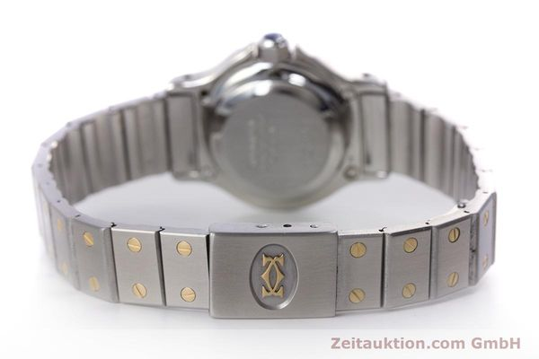 Used luxury watch Cartier Santos steel / gold automatic Kal. ETA 2670  | 153095 10