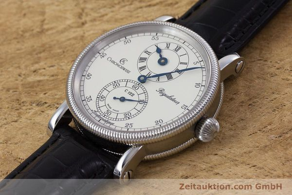 Used luxury watch Chronoswiss Regulateur steel automatic Kal. 122 Ref. CH1223M  | 153097 01
