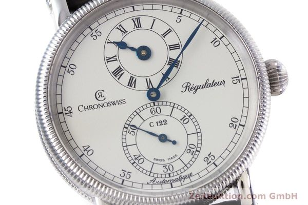 Used luxury watch Chronoswiss Regulateur steel automatic Kal. 122 Ref. CH1223M  | 153097 02