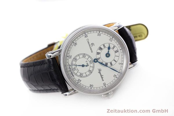 Used luxury watch Chronoswiss Regulateur steel automatic Kal. 122 Ref. CH1223M  | 153097 03