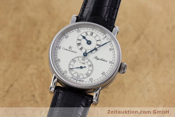 Used luxury watch Chronoswiss Regulateur steel automatic Kal. 122 Ref. CH1223M  | 153097 04