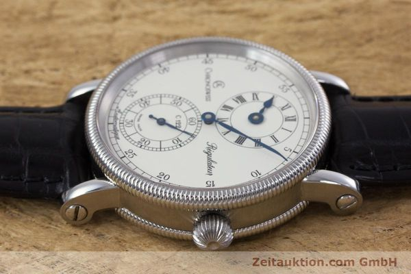 Used luxury watch Chronoswiss Regulateur steel automatic Kal. 122 Ref. CH1223M  | 153097 05