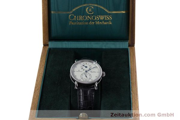 Used luxury watch Chronoswiss Regulateur steel automatic Kal. 122 Ref. CH1223M  | 153097 07