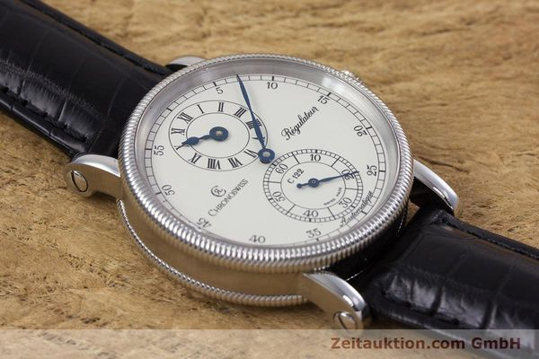 Used luxury watch Chronoswiss Regulateur steel automatic Kal. 122 Ref. CH1223M  | 153097 15