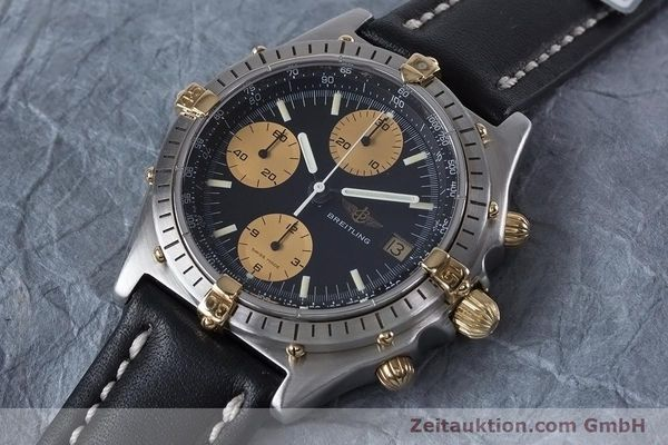 Used luxury watch Breitling Chronomat chronograph steel / gold automatic Kal. Val 7750 Ref. 81950  | 153103 01