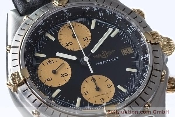Used luxury watch Breitling Chronomat chronograph steel / gold automatic Kal. Val 7750 Ref. 81950  | 153103 02