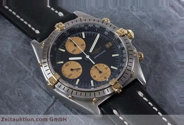 Used luxury watch Breitling Chronomat chronograph steel / gold automatic Kal. Val 7750 Ref. 81950  | 153103 03