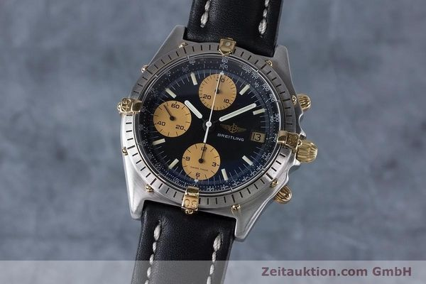 Used luxury watch Breitling Chronomat chronograph steel / gold automatic Kal. Val 7750 Ref. 81950  | 153103 04
