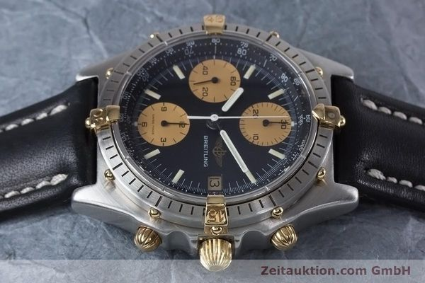Used luxury watch Breitling Chronomat chronograph steel / gold automatic Kal. Val 7750 Ref. 81950  | 153103 05