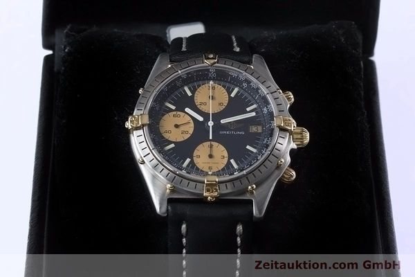 Used luxury watch Breitling Chronomat chronograph steel / gold automatic Kal. Val 7750 Ref. 81950  | 153103 07