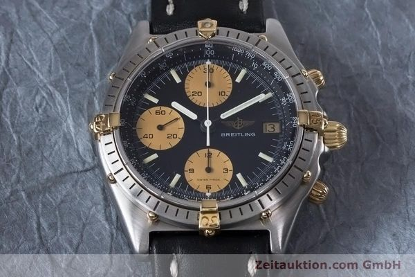 Used luxury watch Breitling Chronomat chronograph steel / gold automatic Kal. Val 7750 Ref. 81950  | 153103 14