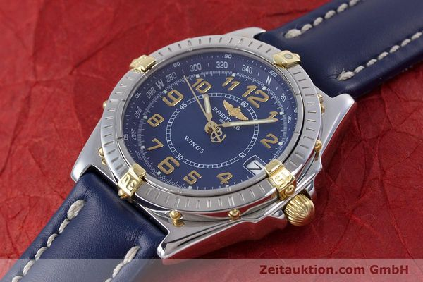Used luxury watch Breitling Wings steel / gold quartz Kal. B66 ETA 955122 Ref. B66050  | 153106 01