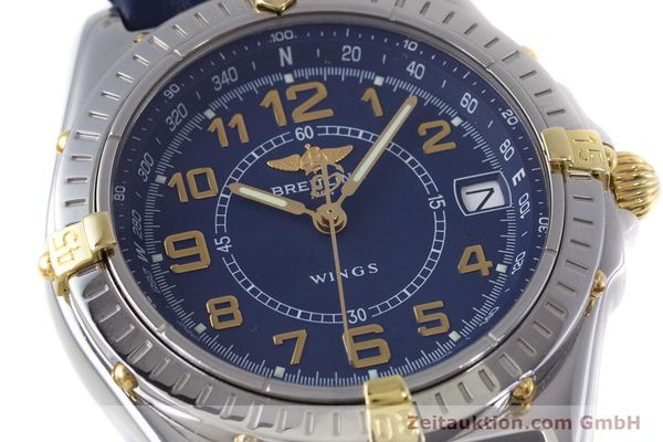Used luxury watch Breitling Wings steel / gold quartz Kal. B66 ETA 955122 Ref. B66050  | 153106 02