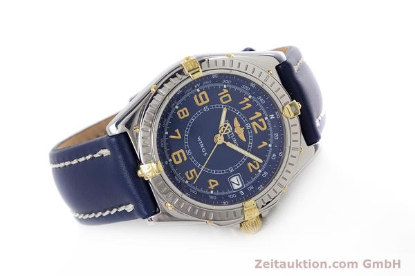 Used luxury watch Breitling Wings steel / gold quartz Kal. B66 ETA 955122 Ref. B66050  | 153106 03