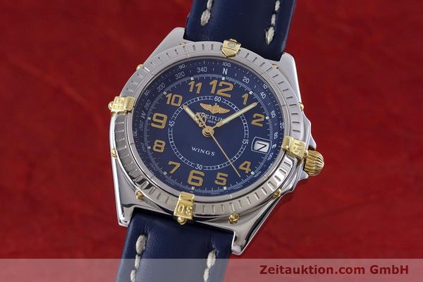 Used luxury watch Breitling Wings steel / gold quartz Kal. B66 ETA 955122 Ref. B66050  | 153106 04