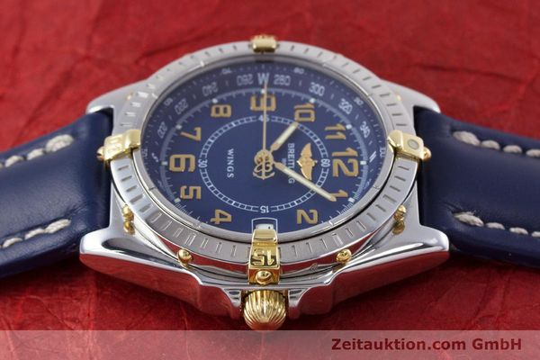 Used luxury watch Breitling Wings steel / gold quartz Kal. B66 ETA 955122 Ref. B66050  | 153106 05