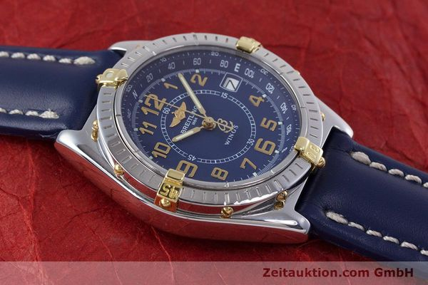 Used luxury watch Breitling Wings steel / gold quartz Kal. B66 ETA 955122 Ref. B66050  | 153106 11