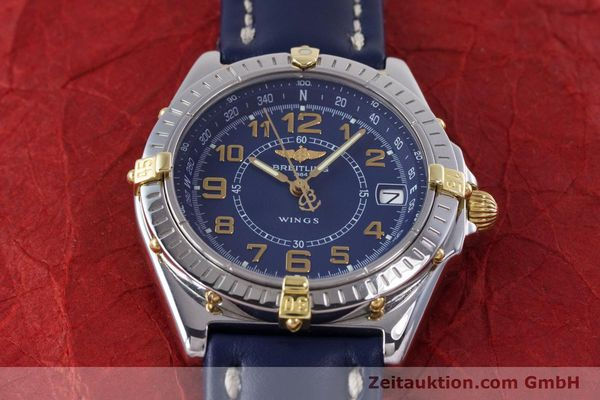 Used luxury watch Breitling Wings steel / gold quartz Kal. B66 ETA 955122 Ref. B66050  | 153106 12