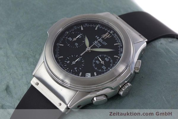 Used luxury watch Hublot MDM chronograph steel automatic Kal. ETA 2892A2 Ref. 1810.1  | 153109 01