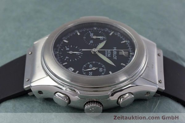 Used luxury watch Hublot MDM chronograph steel automatic Kal. ETA 2892A2 Ref. 1810.1  | 153109 05