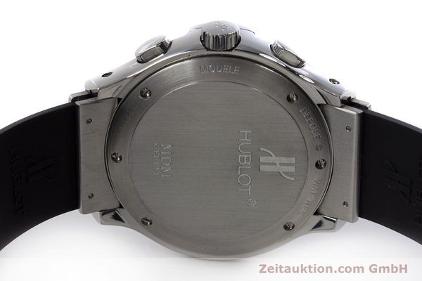 Used luxury watch Hublot MDM chronograph steel automatic Kal. ETA 2892A2 Ref. 1810.1  | 153109 09