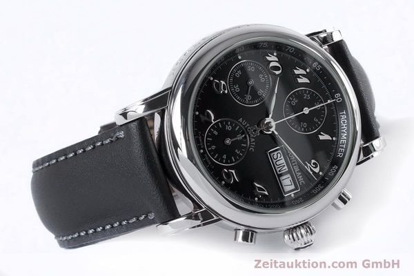 Used luxury watch Montblanc Meisterstück chronograph steel automatic Kal. 4810501 ETA 7750 Ref. 7016  | 153117 03