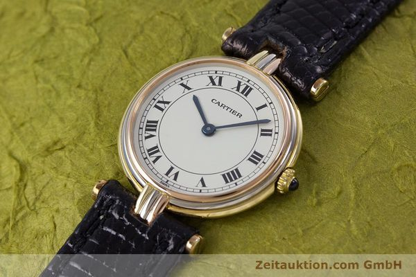 Used luxury watch Cartier * 18 ct gold quartz Kal. 81  | 153120 01