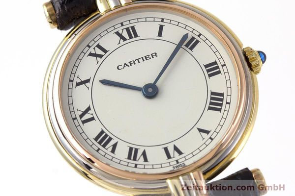 Used luxury watch Cartier * 18 ct gold quartz Kal. 81  | 153120 02