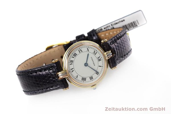 Used luxury watch Cartier * 18 ct gold quartz Kal. 81  | 153120 03